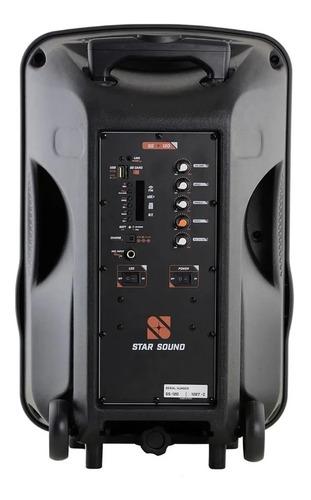 caixa ativa star soud ss120 com microfone