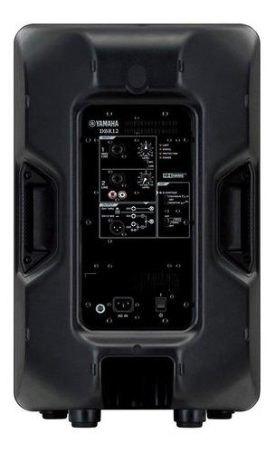 caixa ativa yamaha dbr12 bivolt 1000w nfe garantia
