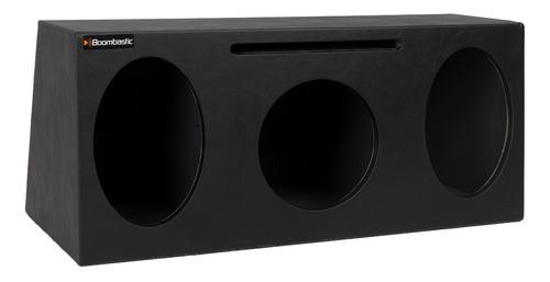 caixa automotiva boombastic 1x8 dutada + 2 6x9