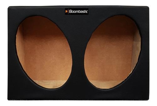 caixa automotiva boombastic para dois altofalantes de 6x9