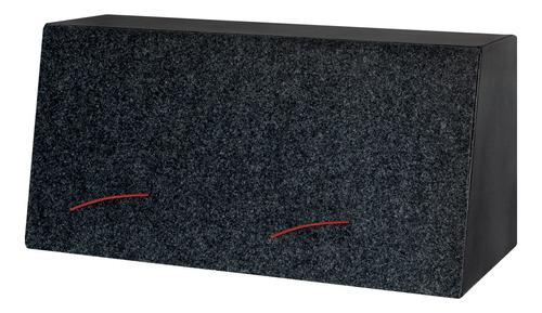caixa automotiva instalada 6x9 dutada bicho papão 250 rms