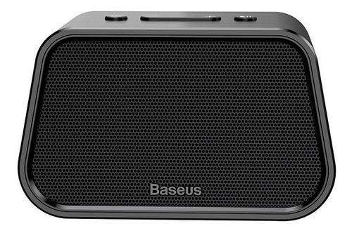 caixa bluetooth portátil baseus encok e02 com p2 e micro sd