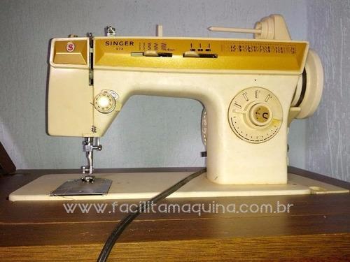 caixa bobina original maquina singer 247 facilita e outras