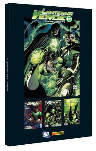 caixa (box) para lanterna verde renascimento dc comics