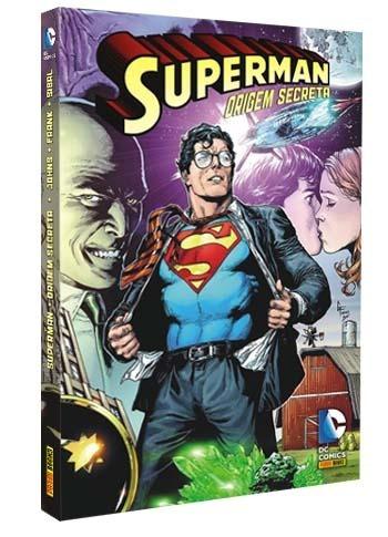 caixa box para superman: origem secreta