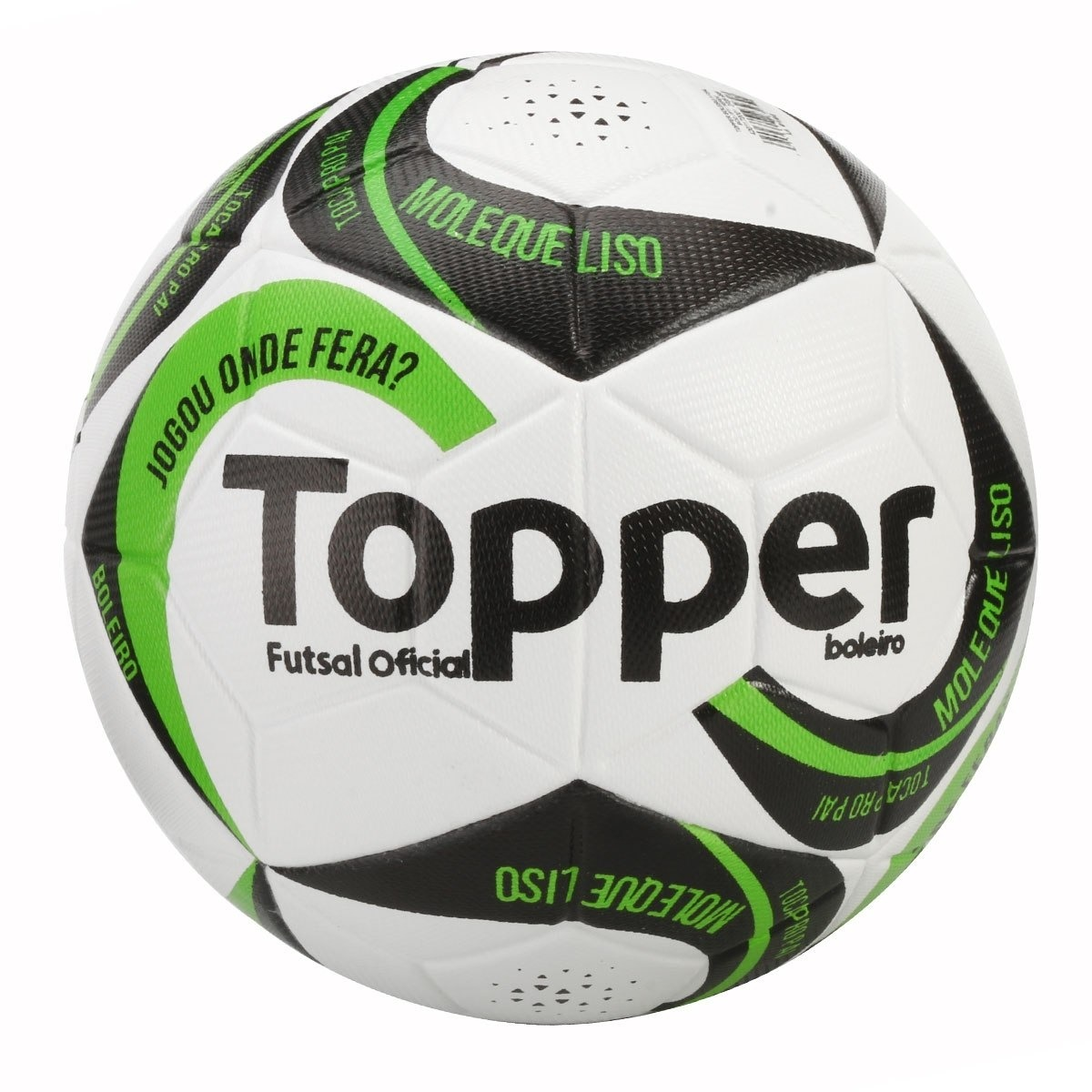 75a821df17 Caixa C 10 Bolas Futsal Oficial Topper Boleiro - R  696
