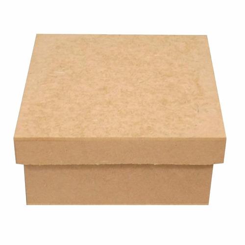 caixa caixinha 10x10x5 mdf crú lembrancinhas casamento festa