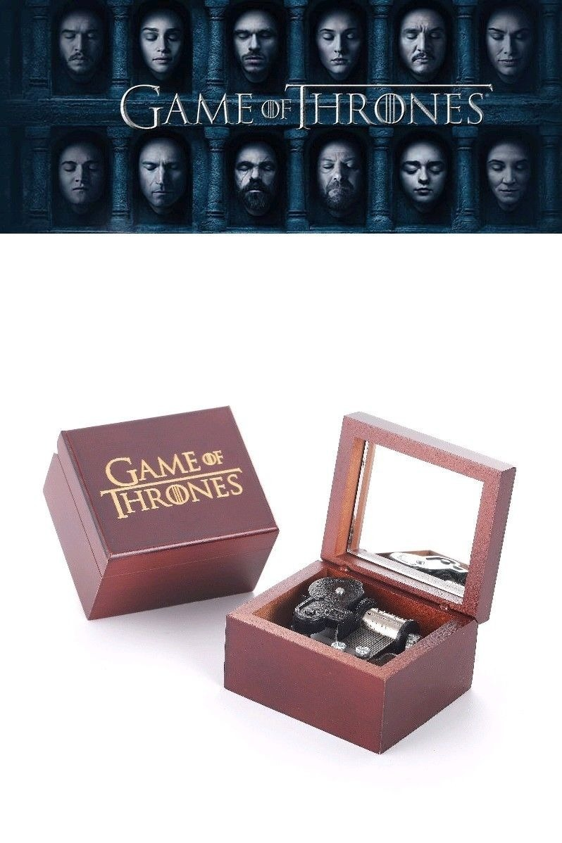caixa caixinha de música de game of thrones opening theme r 129