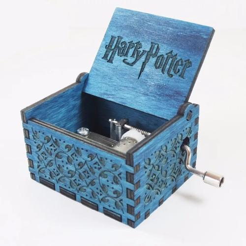 caixa caixinha de musica harry potter filme  pronta entrega