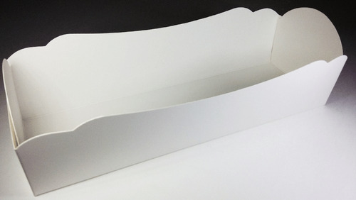 caixa caixinha embalagem hot dog branca pdv print 100un
