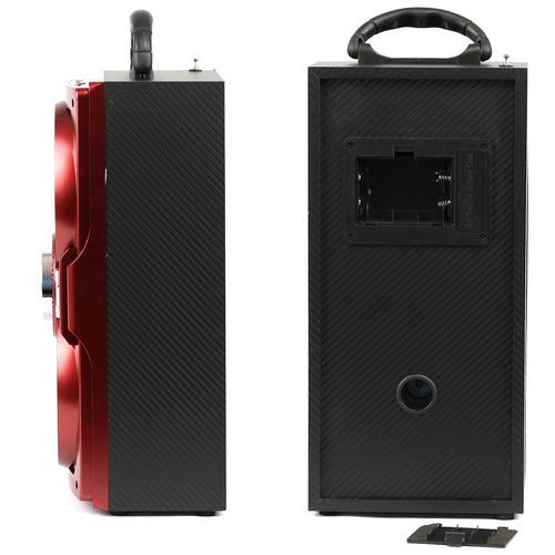 caixa caixinha som portátil bluetooth mp3 usb cartão fm e11