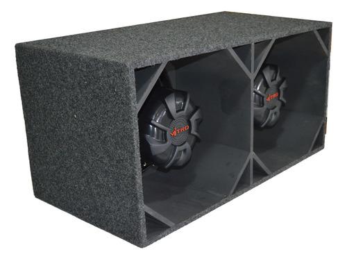 caixa canhão euclides spyder nitro 15 polegadas 1400wrms