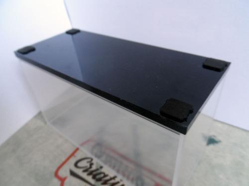caixa case expositora em acrílico para miniaturas