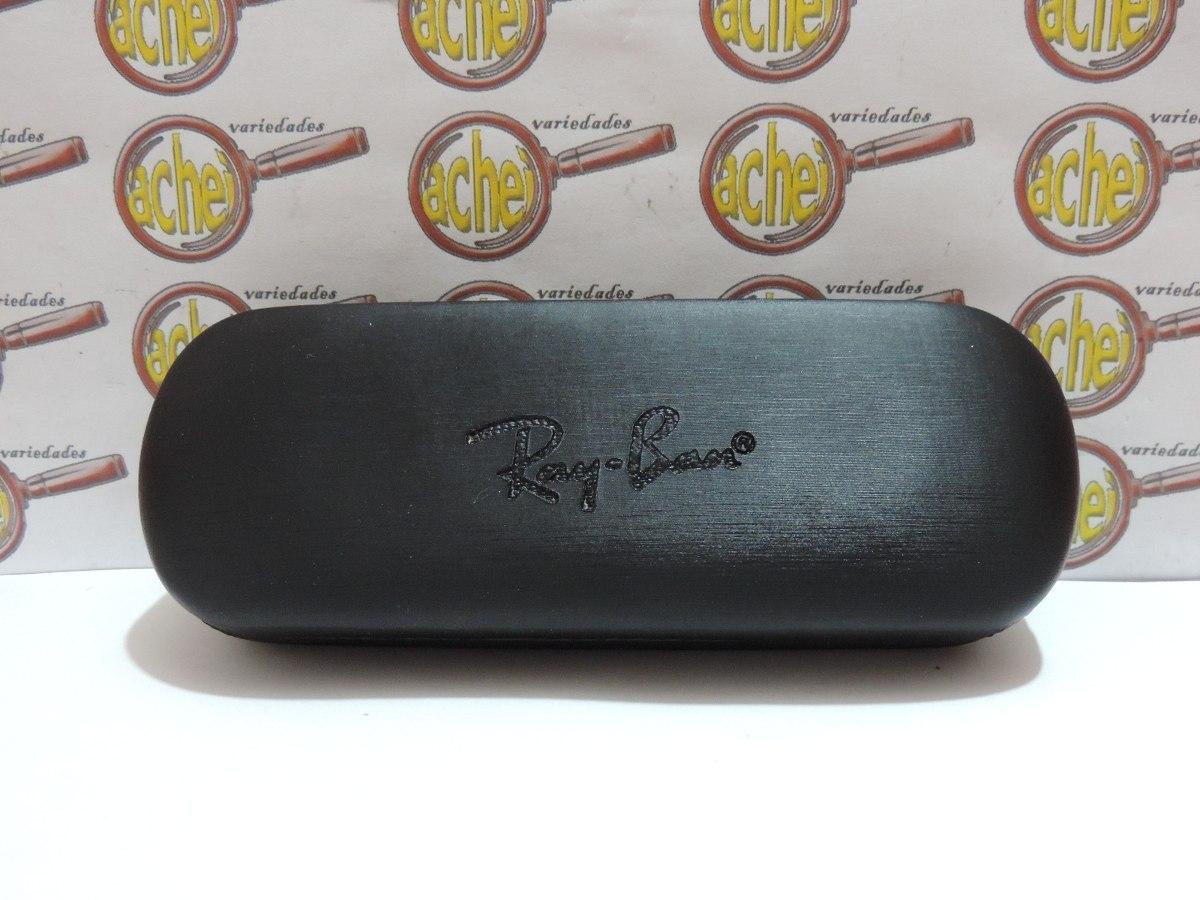 f9a60e2acbda1 Caixa Case Rigida Para Armação Oculos Grau Ray-ban - R  15