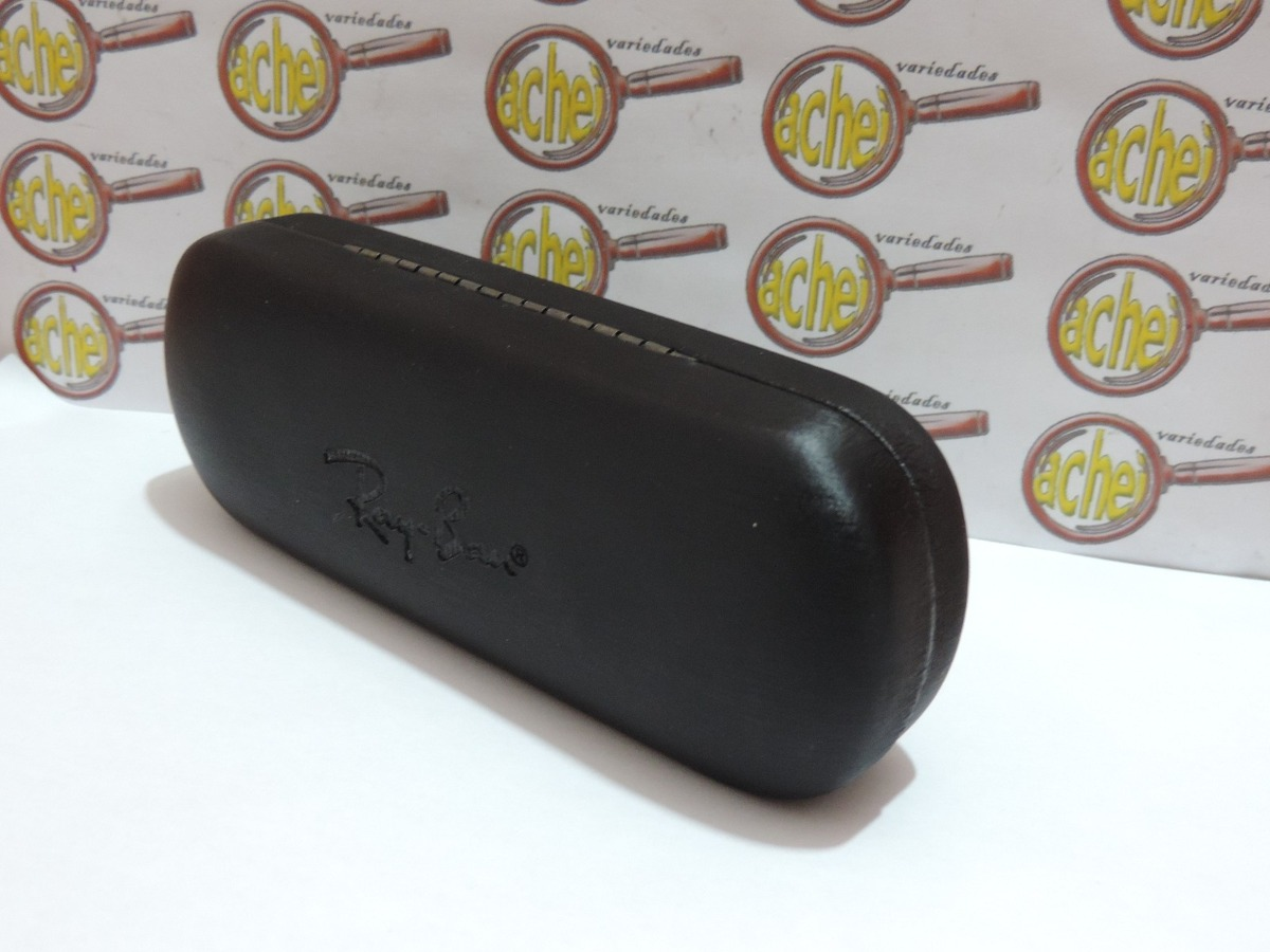 fd9c6c47a10db caixa case rigida para armação oculos grau ray-ban. Carregando zoom.