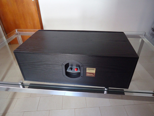 caixa central klipsch rc 62ii r em mercado livre. Black Bedroom Furniture Sets. Home Design Ideas
