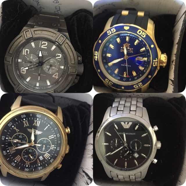 44a8207571d Caixa Colecionador Relógios(inclui Relógios)venda Avulsa Tbm - R ...
