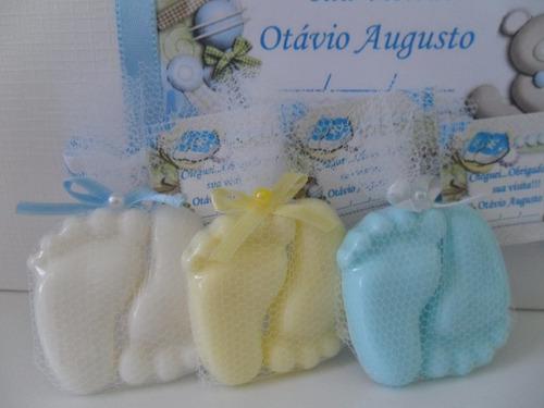 caixa com 100 lembrancinhas maternidade ou chá de bebê