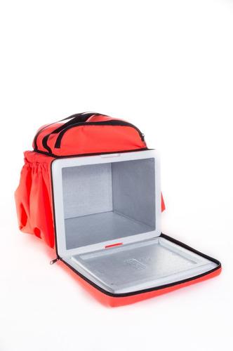 caixa com 20 capas de bags mochila delivery much 44 litros