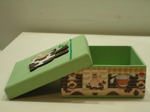 caixa com vaquinha