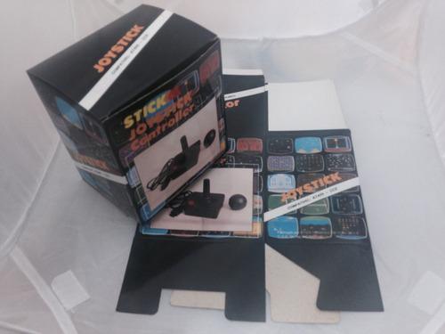 caixa controle atari - stick joystick controller