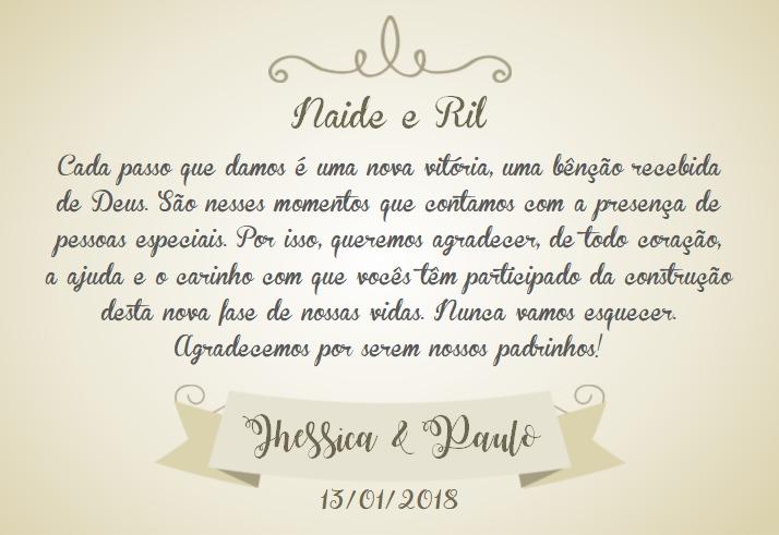 Caixa Convite E Lembrança Padrinhos Casamento 5 Unidades R 50