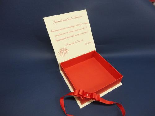 caixa convite padrinhos lembranças casamento 15 anos
