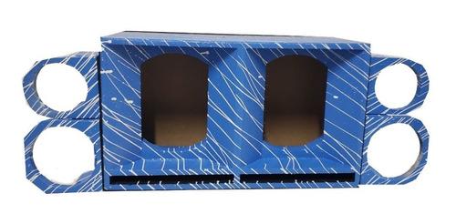 caixa cornetada para médio de 10 azul