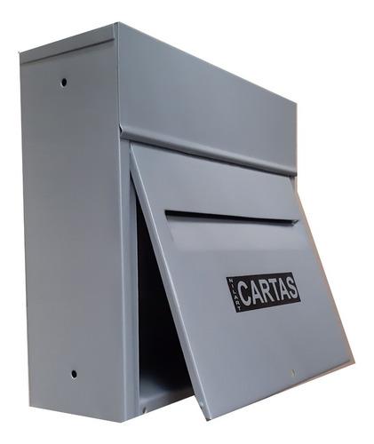 caixa correio carta entrada saída frontal chumbar fixar
