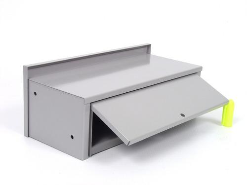 caixa correspondência 1/2 tijolo embutir