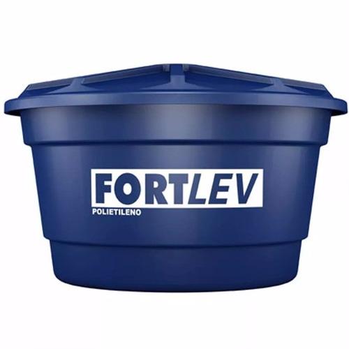 caixa d´água 1000l de polietileno fort lev + boia