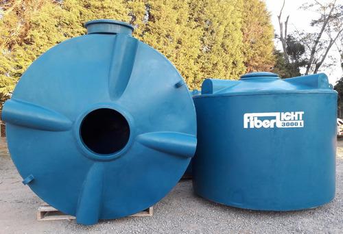 caixa d'agua 3.000 litros polietileno - frete grátis gde sp