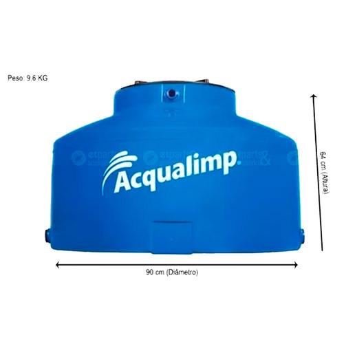 caixa d'água acqualimp 310 litros