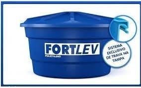 caixa d´água comum de polietileno - fortlev 1000l