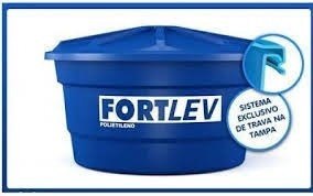 caixa d´água de polietileno fortlev 750l