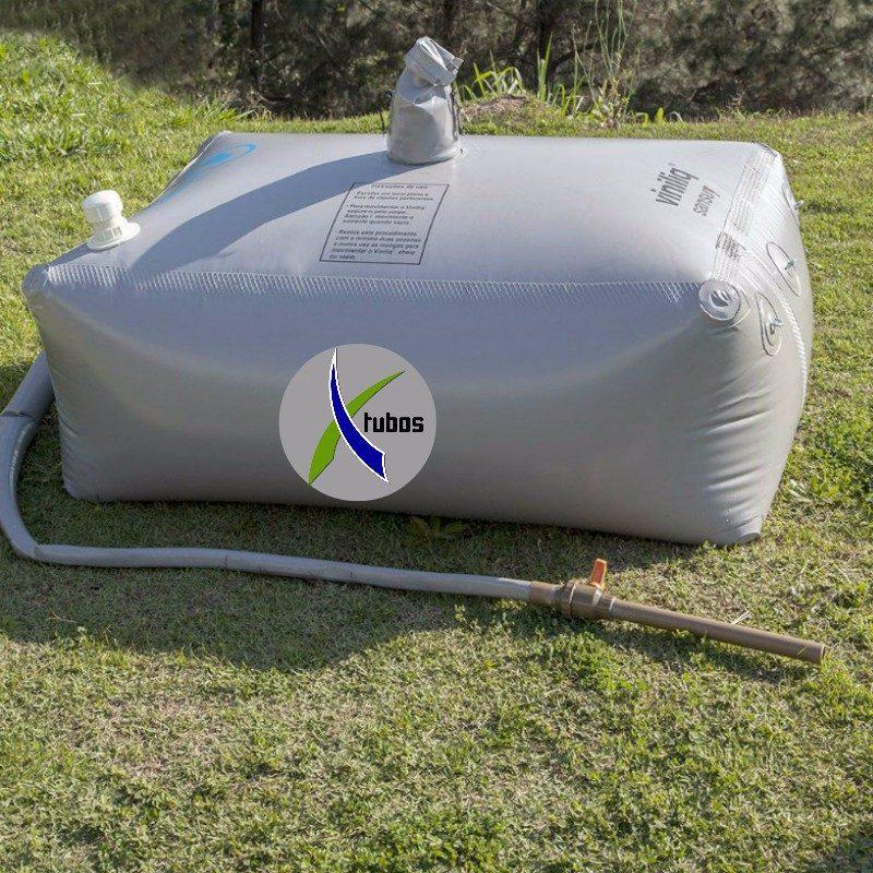 Caixa dagua flexivel tanque armazenar gua 1000 litros r for Estanque para agua de 1000 litros