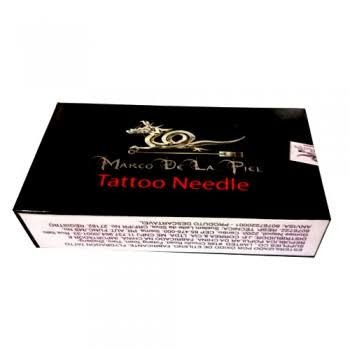caixa de agulha 11rl traço marco delapiel tattoo + brinde
