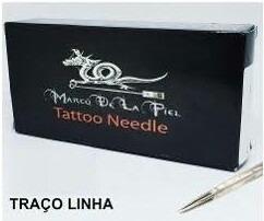caixa de agulha 11rl traço marco delapiel tattoo tatuagem