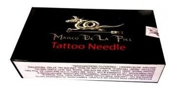 caixa de agulha mista 25x5rl 25x11mg marco de lapiel tattoo
