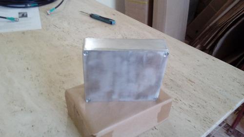 caixa de aluminio tipo hammond 1590xx