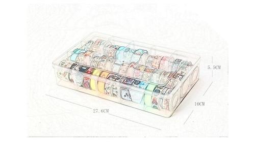 caixa de armazenamento para washi tape multifunção