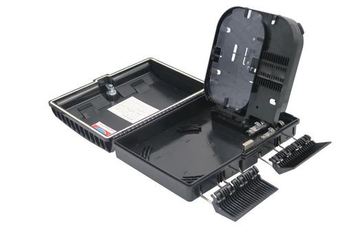 caixa de atendimento óptica (cto) - ftth 16 portas