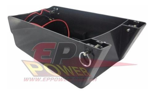 caixa de bateria skate eletrico off road 800w encaixe pino