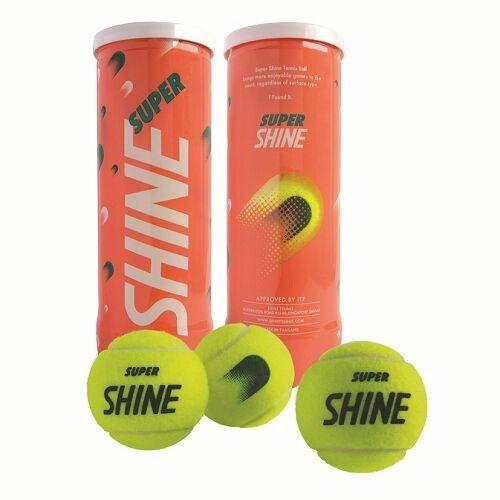 25f758b7d Caixa De Bola Tenis Super Shine Championship 24 Tubos - R  499