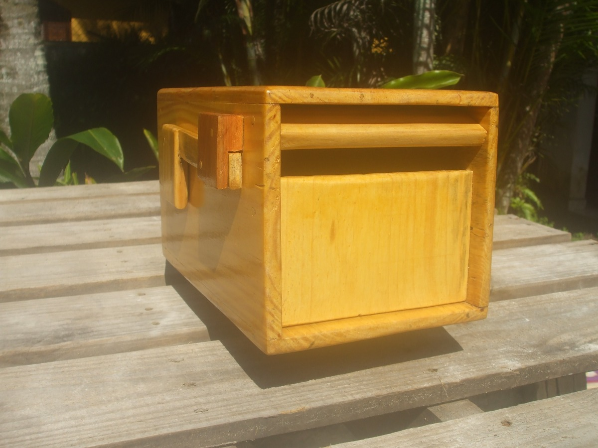 Caixa De Correio Americana Em Madeira R$ 150 00 em Mercado Livre #BB8810 1200x900