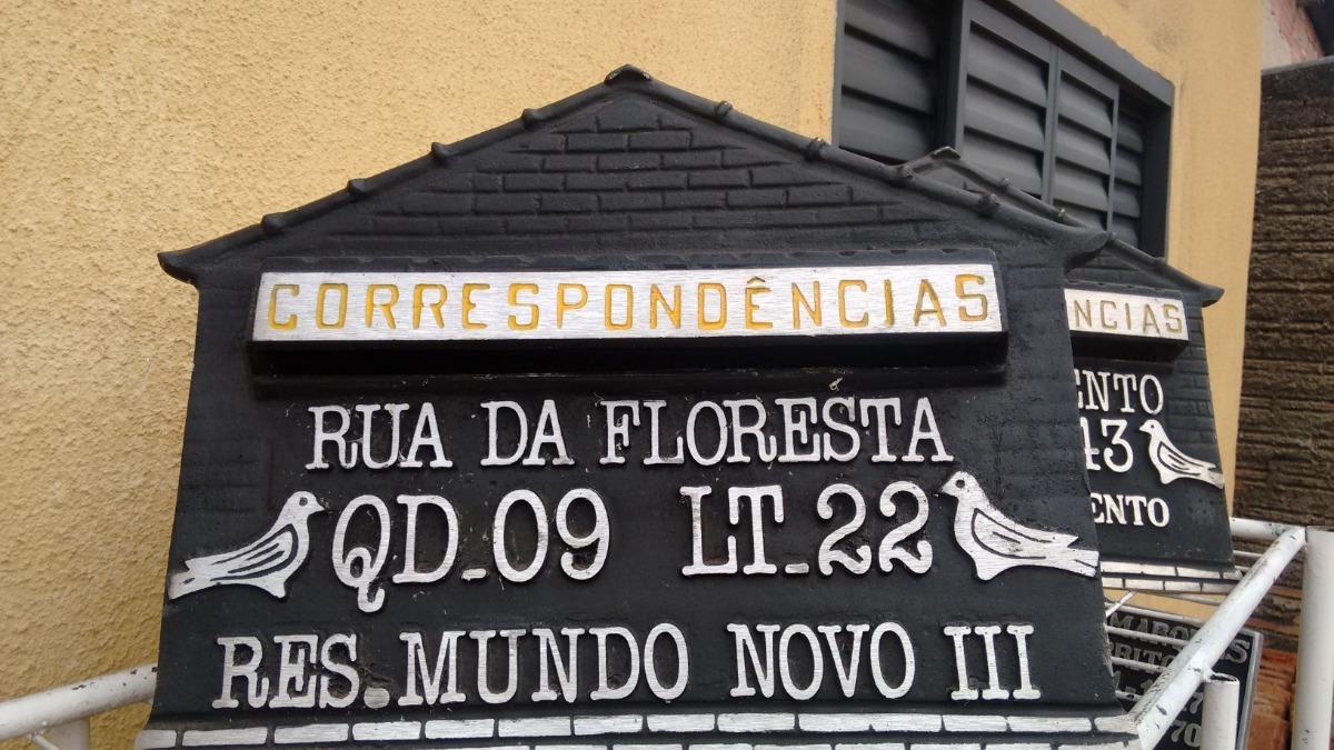 9d24add40ab5 Caixa De Correio Grande Com Endereço Em Alumínio - R$ 160,00 em ...