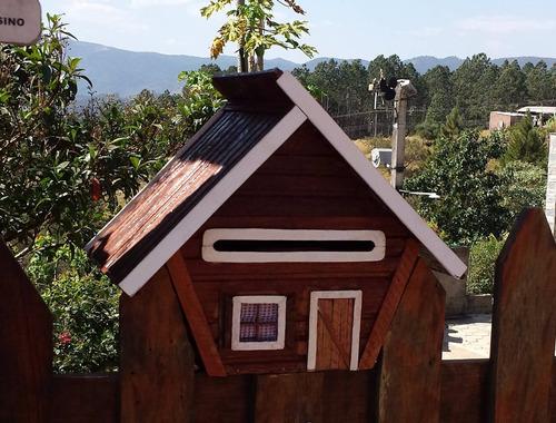 caixa de correio sítio chácara - cedro vermelho