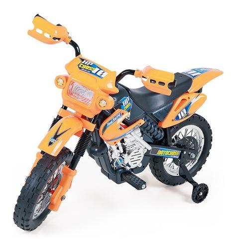 caixa de engrenagem com motor 6v p/ motocross