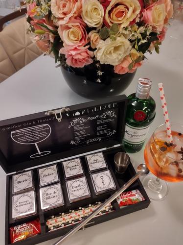 caixa de especiarias gin& tônica