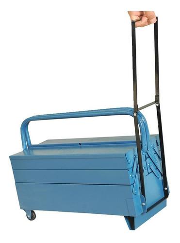 caixa de ferramentas 7 gavetas com rodinhas ref 11 fercar